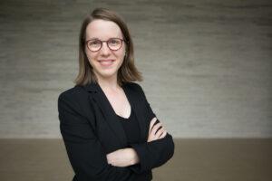 Chorleiterin Judith Mohr